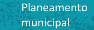 Planeamento urbanístico. Agosto 2015