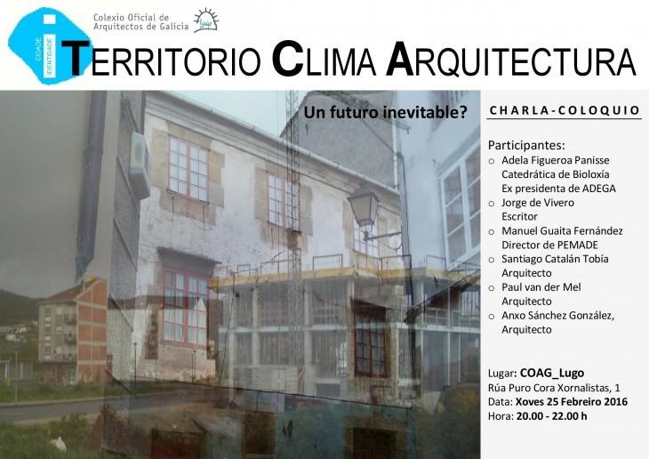 """""""Territorio Clima Arquitectura. Un futuro inevitable?"""""""