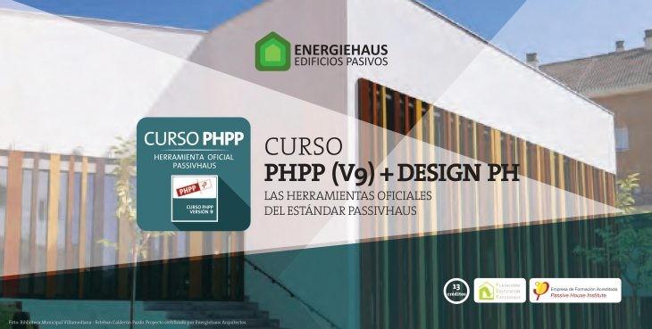 Curso PHPP v9 + DESIGN PHLAS. Ferramentas oficiais do estándar Passivhaus.