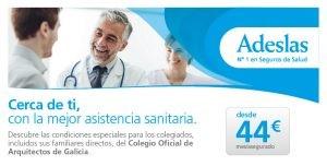 Oferta colectiva: Adeslas, Condiciones Especiales COAG