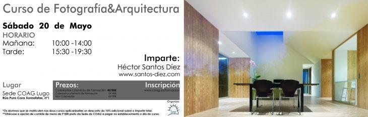 Curso de Fotografía na Arquitectura