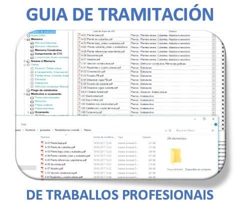 Reunións de seguemento da Guía de Tramitación de traballos profesionais