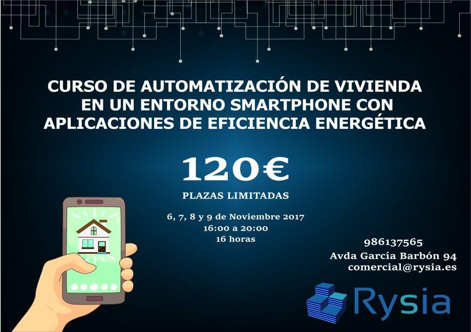 Rysia. Curso de automatización de vivienda en un entorno smartphone