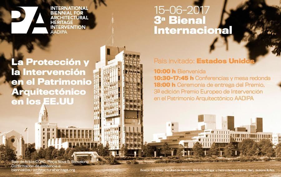 3ª Bienal Internacional de Intervención en el Patrimonio Arquitectónico