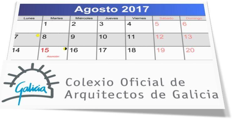 Atención colexial durante o mes de agosto: recomendación de contacto a través da plataforma de consultas