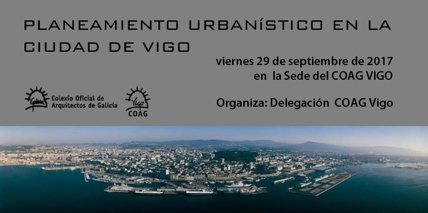 Jornada Planeamiento Urbanístico en la Ciudad de Vigo