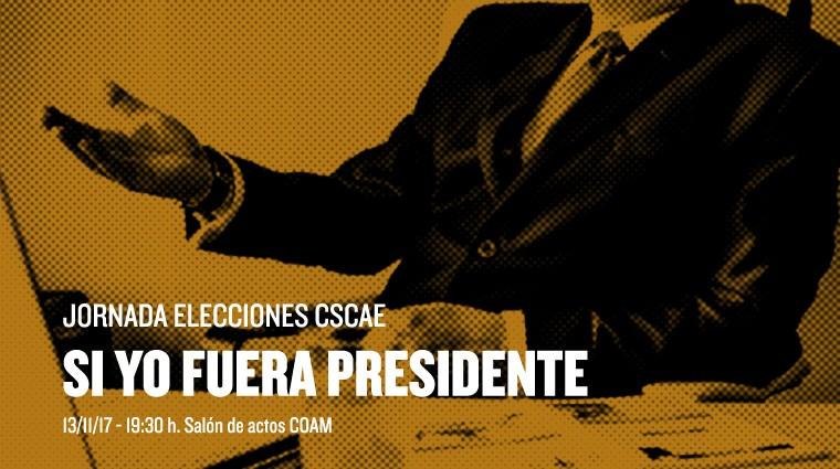 Jornada Elecciones CSCAE