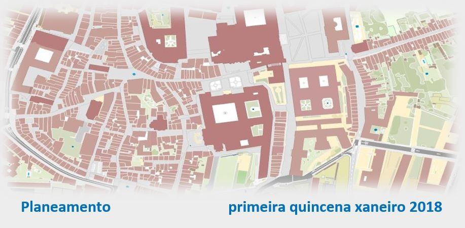 Planeamento urbanístico – primeira quincena xaneiro 2018