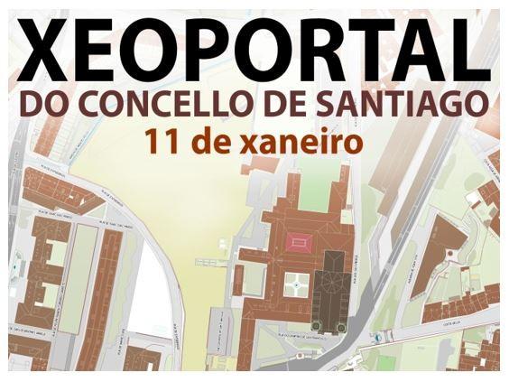 Presentación do Xeoportal do Concello de Santiago
