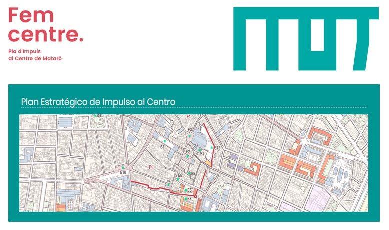 Concurso de ideas: Desarrollo Plan Estratégico Centro de Mataró