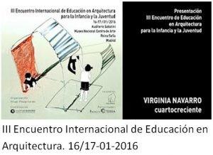 III Encuentro Internacional de Educación en la Arquitectura 2016