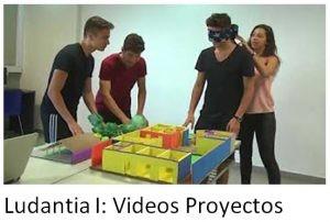 Ludantia I: Vídeos, proyectos