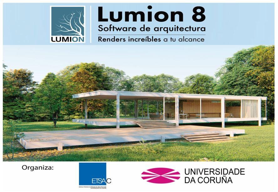 Taller gratuito de animación de proyectos BIM + Realidad Virtual con Lumion