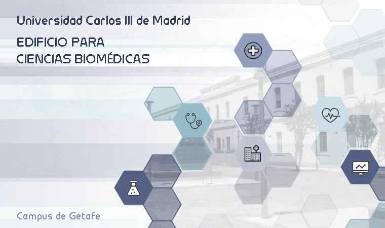 Concurso de proyectos para la construcción de un edificio para ciencias Biomédicas en el campus de Getafe de la Universidad Carlos III de Madrid