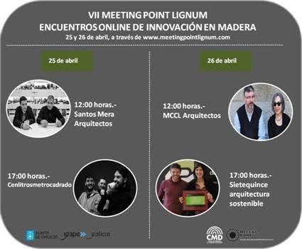Encuentros Online de Innovación en Madera, Meeting Point Lignum