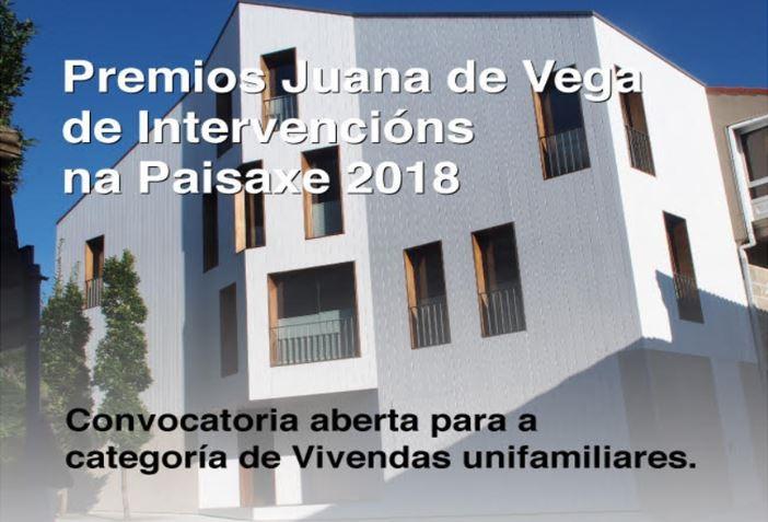 Convocatoria Premios Juana de Vega de Intervencións na Paisaxe 2018 – Vivendas unifamiliares