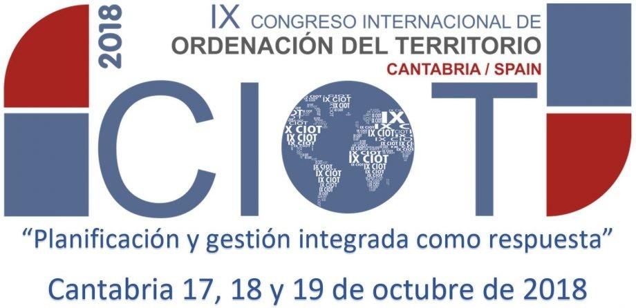IX Congreso Internacional de Ordenación del Territorio