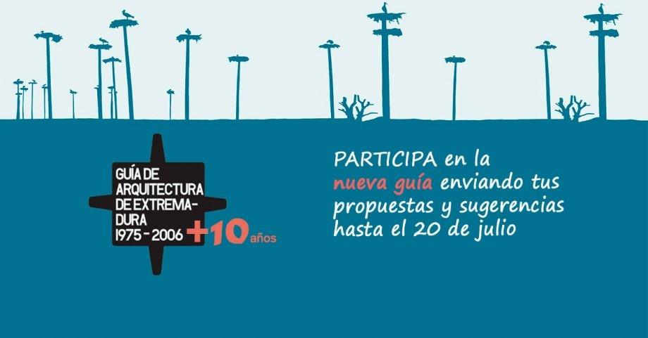 Abierto el período de presentación de obras para la nueva Guía de Arquitectura de Extremadura