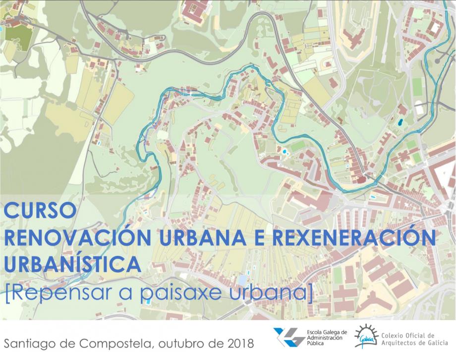 Curso | Renovación urbana e rexeneración urbanística. Fin de prazo bonificación 10% no importe de matrícula