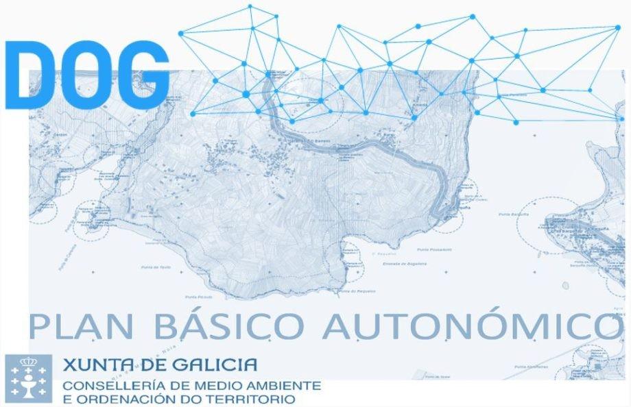 Publicación no DOG da aprobación do Plan Básico Autonómico de Galicia