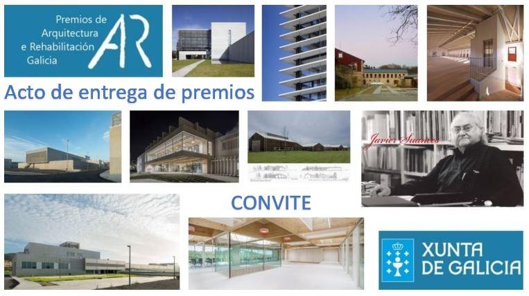 Acto de entrega dos II Premios de Arquitectura e Rehabilitación de Galicia 2018