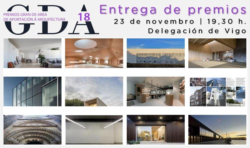 Acto de entrega dos Premios GRANDEAREA 2018
