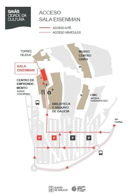mapa sala eisenman
