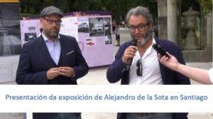 Presentación Exposición Alejandro de la Sota en Santiago