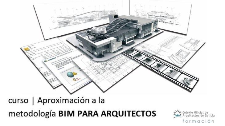Aberta matrícula da 3ª edición do curso «Introducción á Metodoloxía BIM para arquitectos»