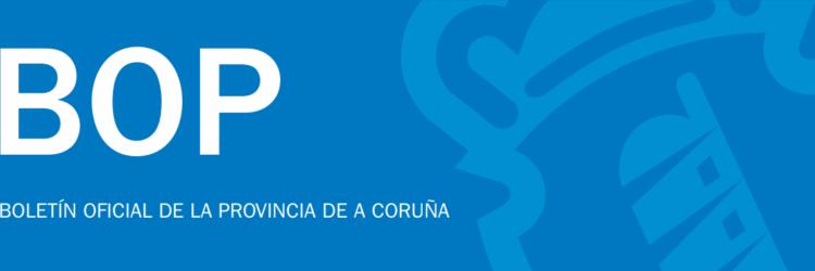 Publicación das bases do procedemento selectivo das 3 prazas de arquitecto/a da Deputación Provincial da Coruña