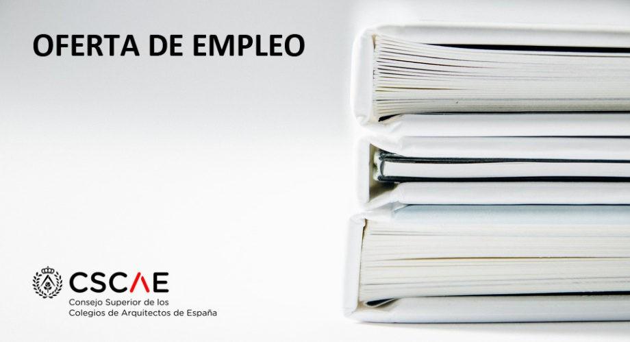 Concurso para la contratación de un/a arquitecto/a para Área Técnica del CSCAE