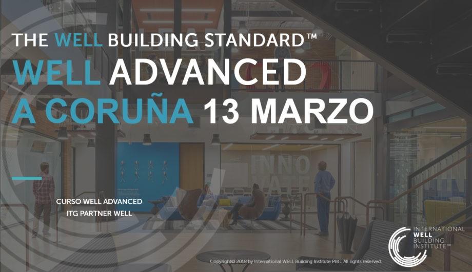 Curso oficial WELL Advanced en A Coruña | 13 marzo
