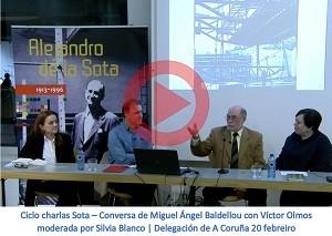 Conversa de Miguel Ángel Baldellou con Victor Olmos moderada por Silvia Blanco