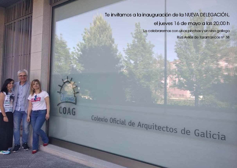 Inauguración das novas oficinas da Delegación de Ourense