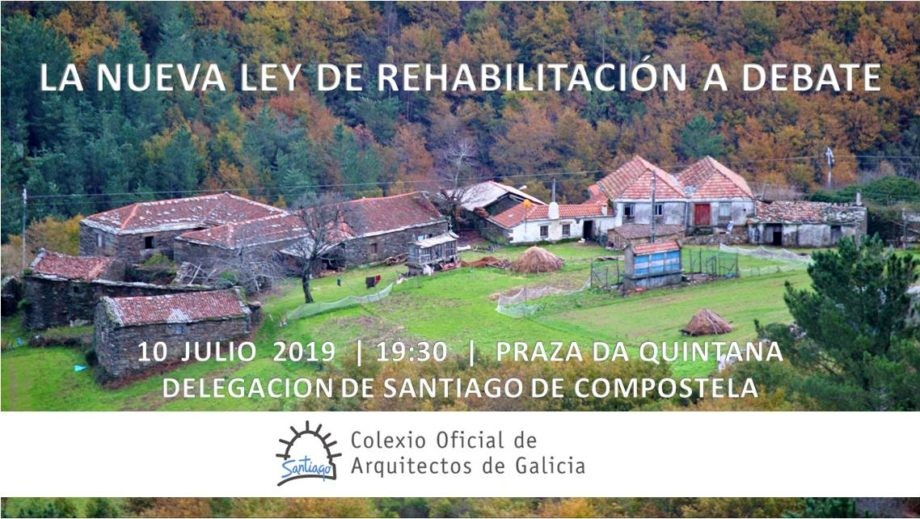Mesa redonda sobre la nueva «Ley de Rehabilitación de Galicia»