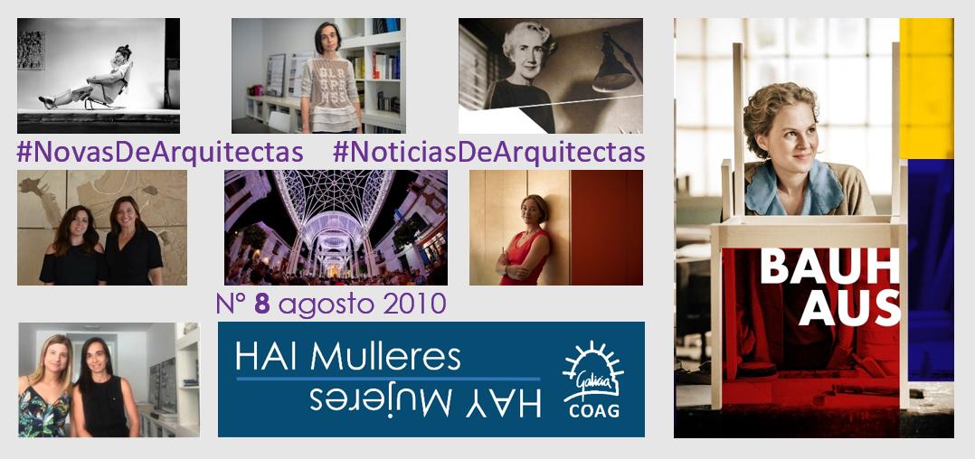Dispoñible o Nº 8 de #NovasDeArquitectas #NoticiasDeArquitectas