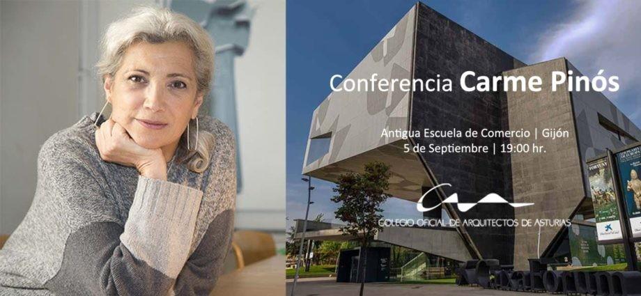 Conferencia de Carme Pinós en Gijón