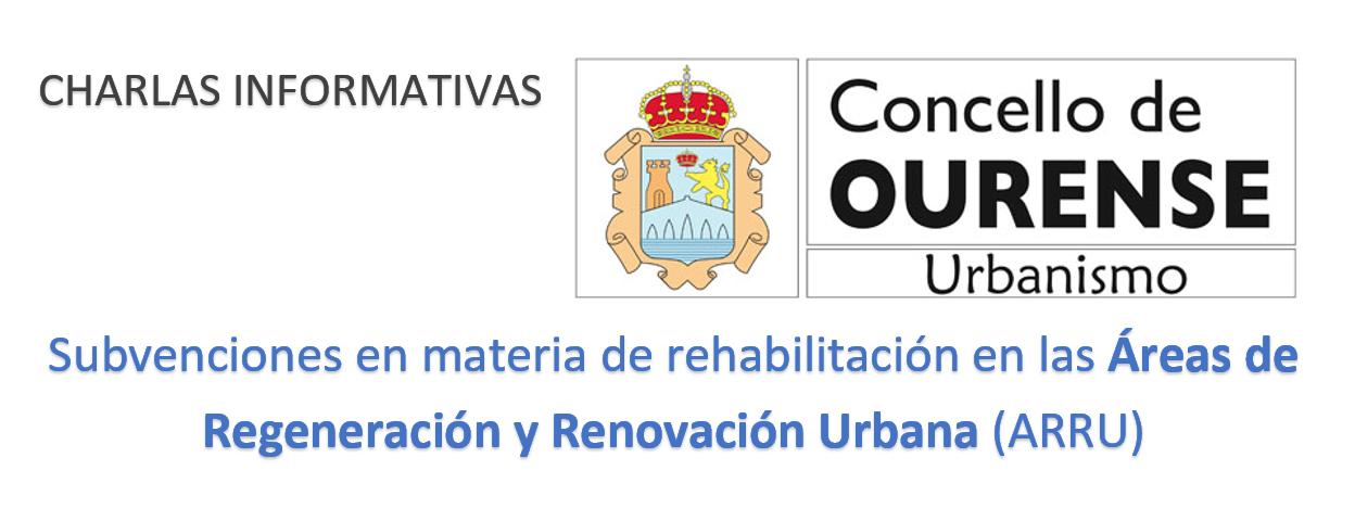 Reuniones informativas ayudas ARRUS Concello de Ourense