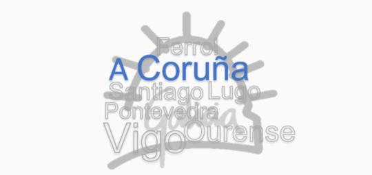 Aviso de peche da Delegación de A Coruña o venres 25 de xuño