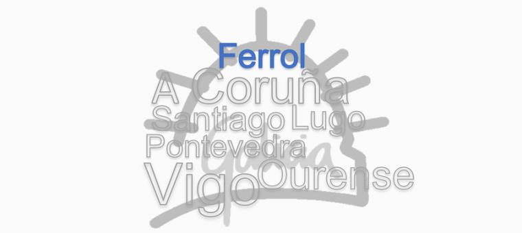 Peche da Delegación de Ferrol os días 22 e 29 de novembro