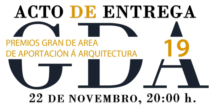 Acto de entrega dos premios GRAN DE AREA 2019