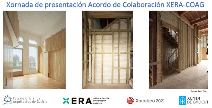 Xornada de presentación Acordo de Colaboración XERA-COAG | Visita a obra de rehabilitación dun edificio con estrutura de pino tea de Arrokabe arquitectos