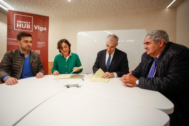 Asinado un convenio coa Xunta para impulsar o uso da madeira na construción