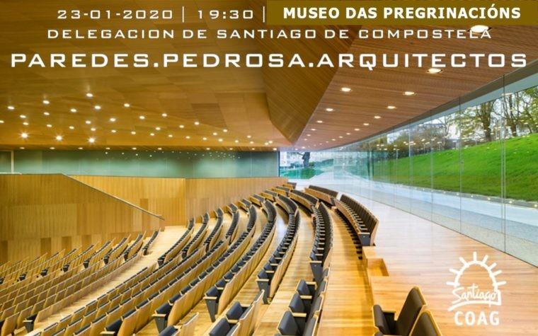 Cambio de lugar de celebración de la Conferencia PAREDES PEDROSA ARQUITECTOS