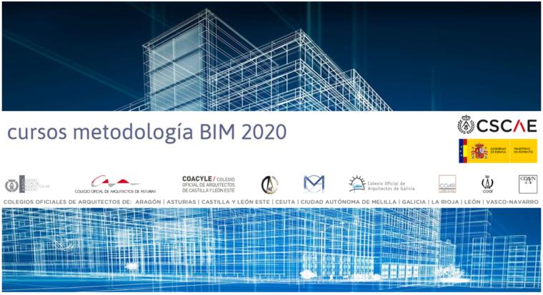 Aberta matrícula «Aproximación á metodoloxía BIM para arquitectos», edición 2020 | Próximos cursos BIM ao abeiro da subvención do Ministerio de Fomento