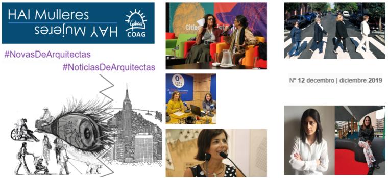 Dispoñible o nº 12 de #NovasDeArquitectas #NoticiasDeArquitectas