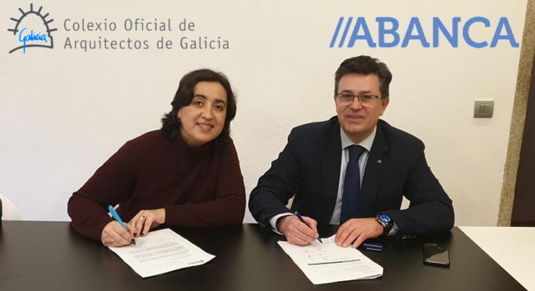 Acuerdo de colaboración entre el COAG y ABANCA
