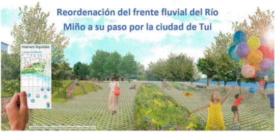 Proxectos presentados ao Concurso de Ideas da Reordenación da Fronte Fluvial do Río Miño en Tui