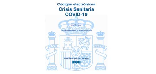 Información legal de interés sobre el COVID-19