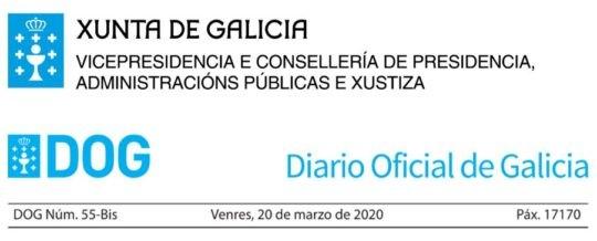 Aprobada a Instrución acerca da execución dos contratos de obra da Xunta de Galicia ante a situación provocada polo coronavirus COVID-19